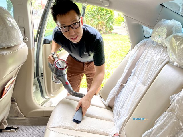 Roborock H6 Cleaning Car Seat Rear