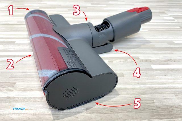Roborock H6 Component Floor Brush