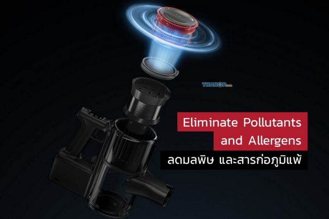Roborock H6 Feature Eliminate Pollutants and Allergens