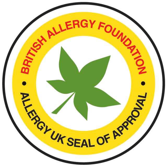 Allergy UK Seal of Approval Logo