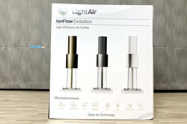LightAir IonFlow Evolution Box Front