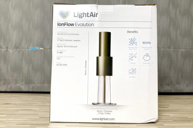 LightAir IonFlow Evolution Box Rear
