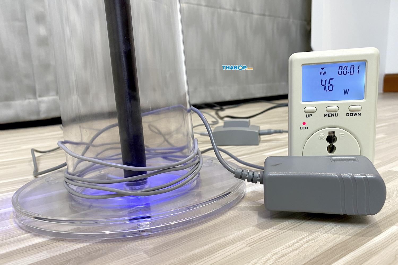lightair-ionflow-evolution-power-consumption-test