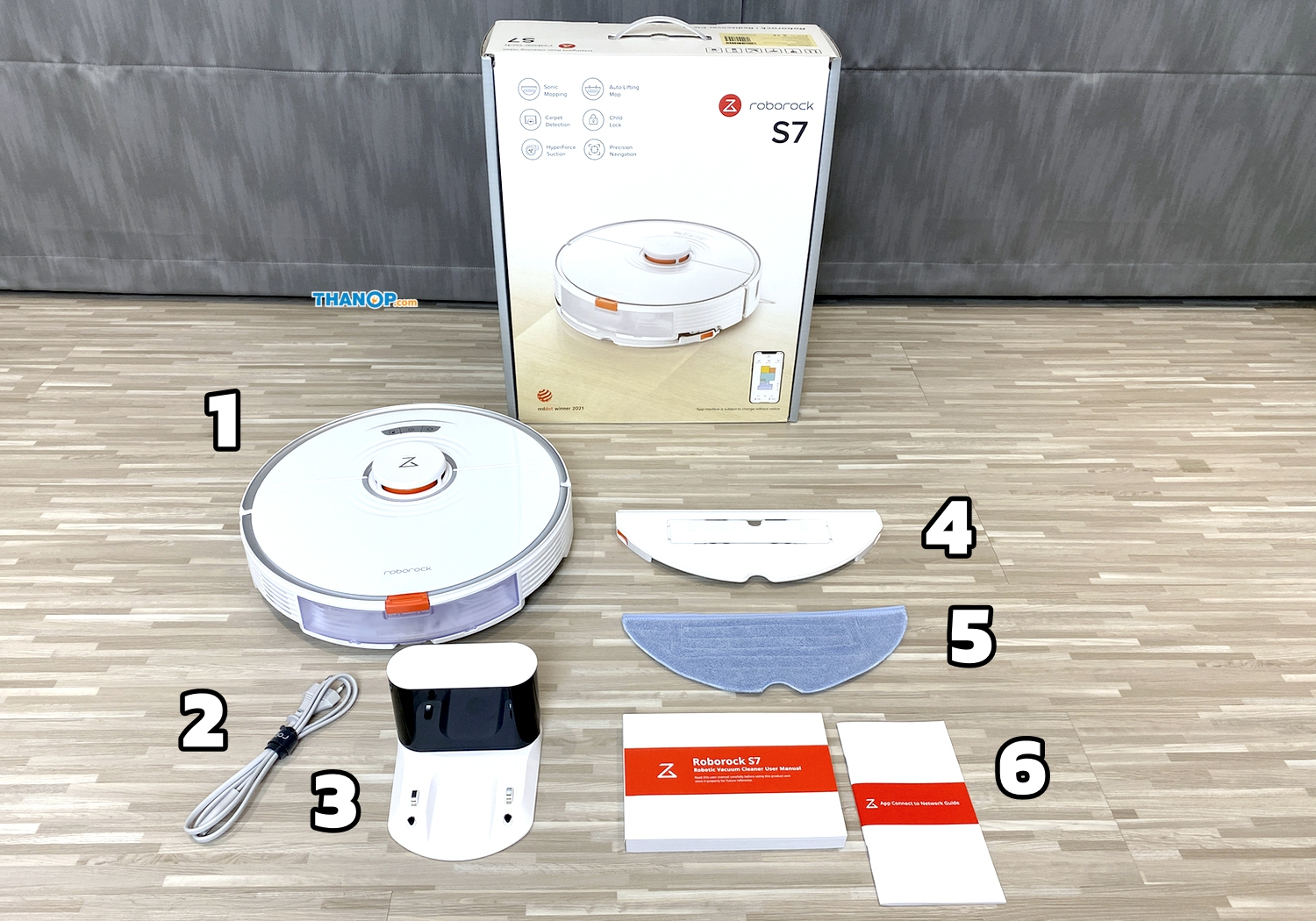 Roborock S7 Working with Mopping Function