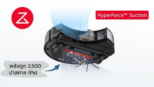 Roborock S7 Feature HyperForce Suction